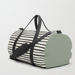 Sage Green x Stripes Sporttaschen