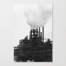 Smoky Bird Canvas Print