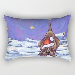 Animal Parade Hound Dog Rectangular Pillow