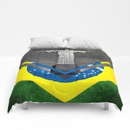 Flags - Brazil Comforters