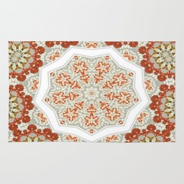 Fractal Carpet Mandala 39 Rug