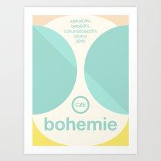 bohemie single hop Art Print