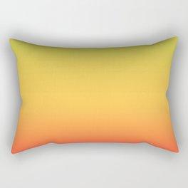 Tropical Colorful Gradient Pattern Rectangular Pillow