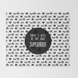 My own superhero Throw Blanket