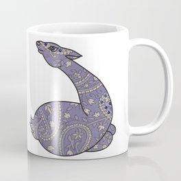The Lavender Paisley Deer Coffee Mug