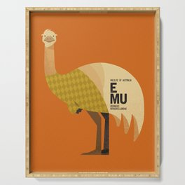 Hello Emu Serving Tray