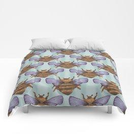 sky bee pattern Comforters