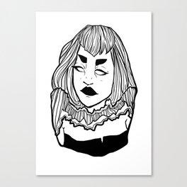Lines 002 Canvas Print