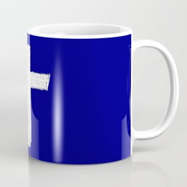 Christian Cross Chalk version Coffee Mug