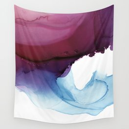 Shades of Purple Wall Tapestry