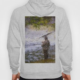 Trout fishing Hoody