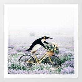 Happy Ride Art Print