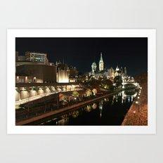 Downtown Ottawa Art Print