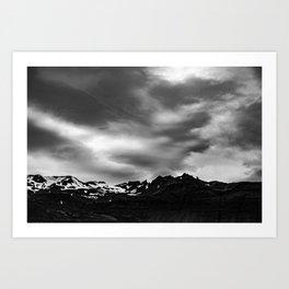 Iceland Glaciers Art Print