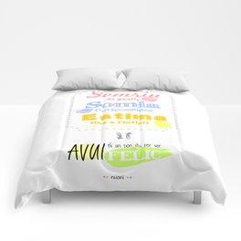 {CAT} SOMRIU · SOMIA · ESTIMA Comforters