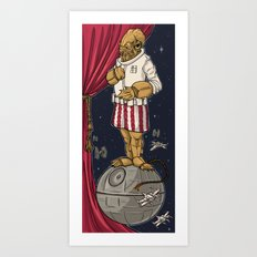 Foolish Mortals...It's a TRAP. Art Print