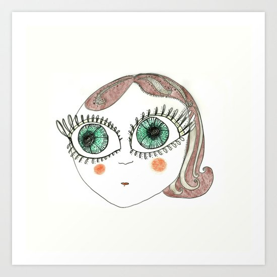 I am Delfina! Art Print
