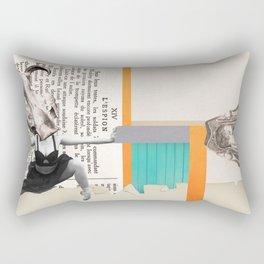 Revolution Devours Her Firstborn Son Rectangular Pillow