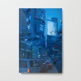 Streets of Toronto and citylife photography Metal Print