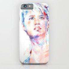 Eyes of Blue . . . portrait iPhone 6s Slim Case
