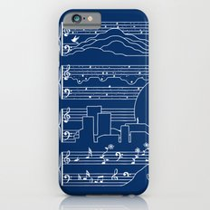 The Moonlight Sonata Blue iPhone 6s Slim Case