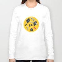 sport Long Sleeve T-shirts featuring Sport equipment by Irmirx