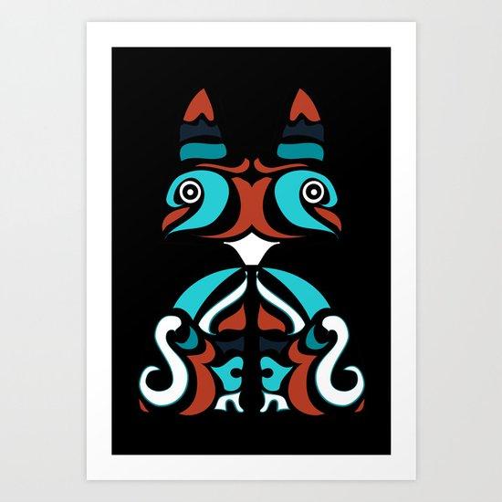 Cute and Wild Art Print