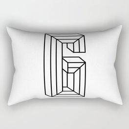 Letter G Rectangular Pillow