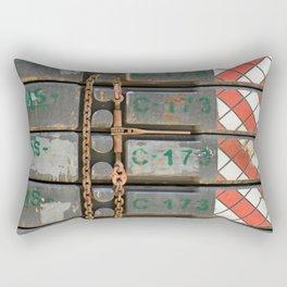 The Bottom & the Beast Rectangular Pillow