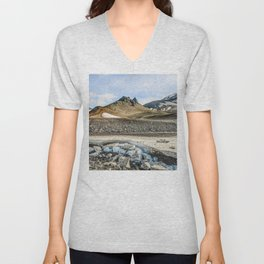 """Extrusion """"Camel"""" at the foot of the Avachinsky volcano Unisex V-Neck"""