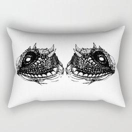 Lizzy (White) Rectangular Pillow