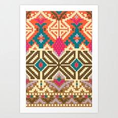 alta plano Art Print