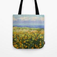 Seaside Poppies Tote Bag