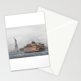 Liberty & The Boat Stationery Cards