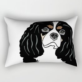 Daisy the Cavalier King Charles Spaniel Rectangular Pillow