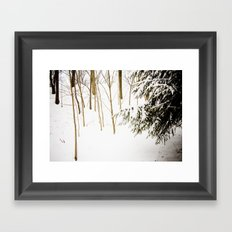 Simply stated Framed Art Print