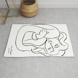 Henri Matisse - PASIPHAE PLATE 2 - Woman With Arms Crossed Artwork Reproduction, Prints, Tshirts, Po Rug