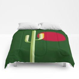 verde esperanza Comforters