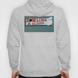 bowling n billiards  Hoody