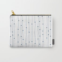 Dashing restless lines Carry-All Pouch