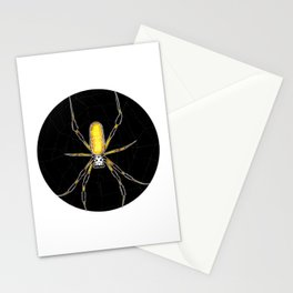 Golden Silk Orb Weaver (Nephila)     BUGSPOTTING SERIES Stationery Cards