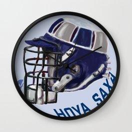 Hoyas Bucket Helmet Wall Clock