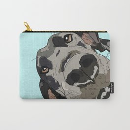 Great Dane In Your Face Carry-All Pouch