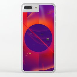 Wild Dreams Clear iPhone Case