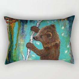 Spirit Cub Finds the Honey Rectangular Pillow