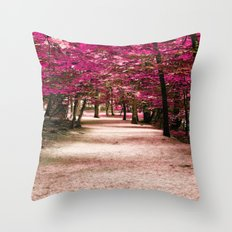 Fall Fantasy Throw Pillow