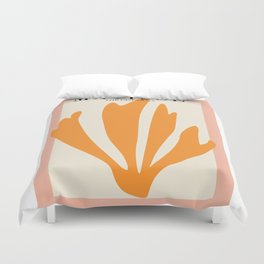 Henri matisse the cut outs contemporary, modern minimal art Duvet Cover