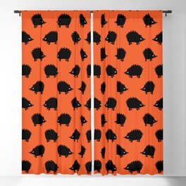 Angry Animals: hedgehog Blackout Curtain