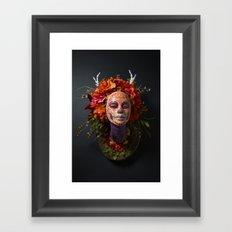 Summer Muertita Front Framed Art Print