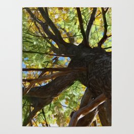 The Mighty Oak Poster